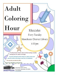 Adult Coloring Hour - Samantha