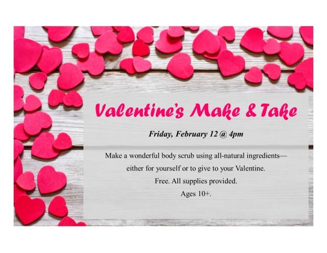 Valentines 2016 make&take