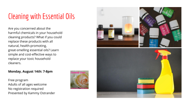 Essential Oils - August 14, 2017