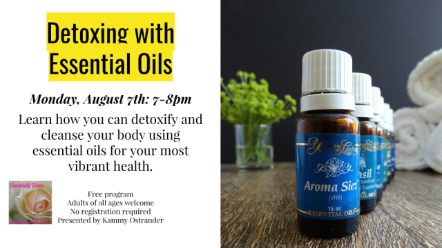 Essential Oils - August 7, 2017