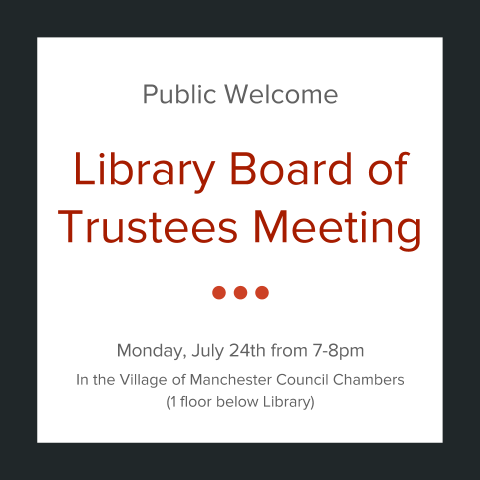 Library Board Meeting - July 24, 2017