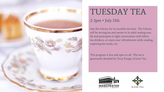 Tea Time Flyer - July 11, 2017