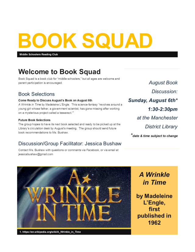Book Squad - Welcome - August Book - August 6, 2017.png