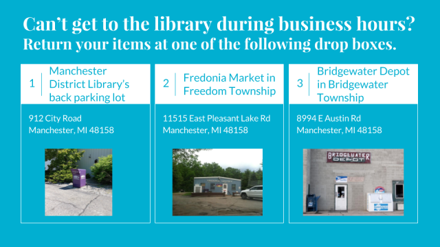 Library Drop Boxes