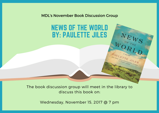 Updated Copy of Book Discussion Group - Nov 15, 2017