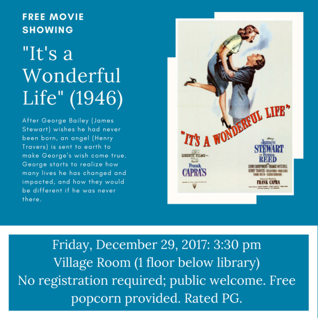 Movie Showing - Dec 29, 2017